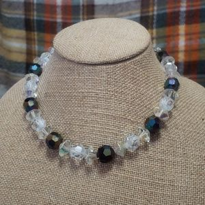Jewelry - Vintage Aurora Borealis crystal necklace